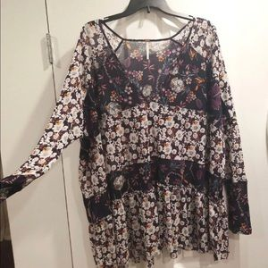Free people  Isabelle tunic